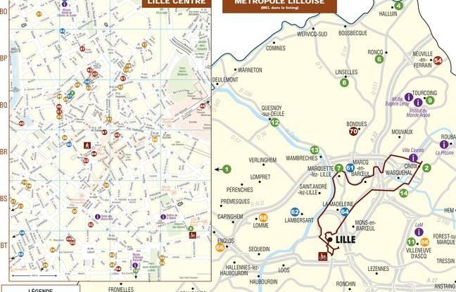 La première carte du tourisme brassicole dans la métropole lilloise est née