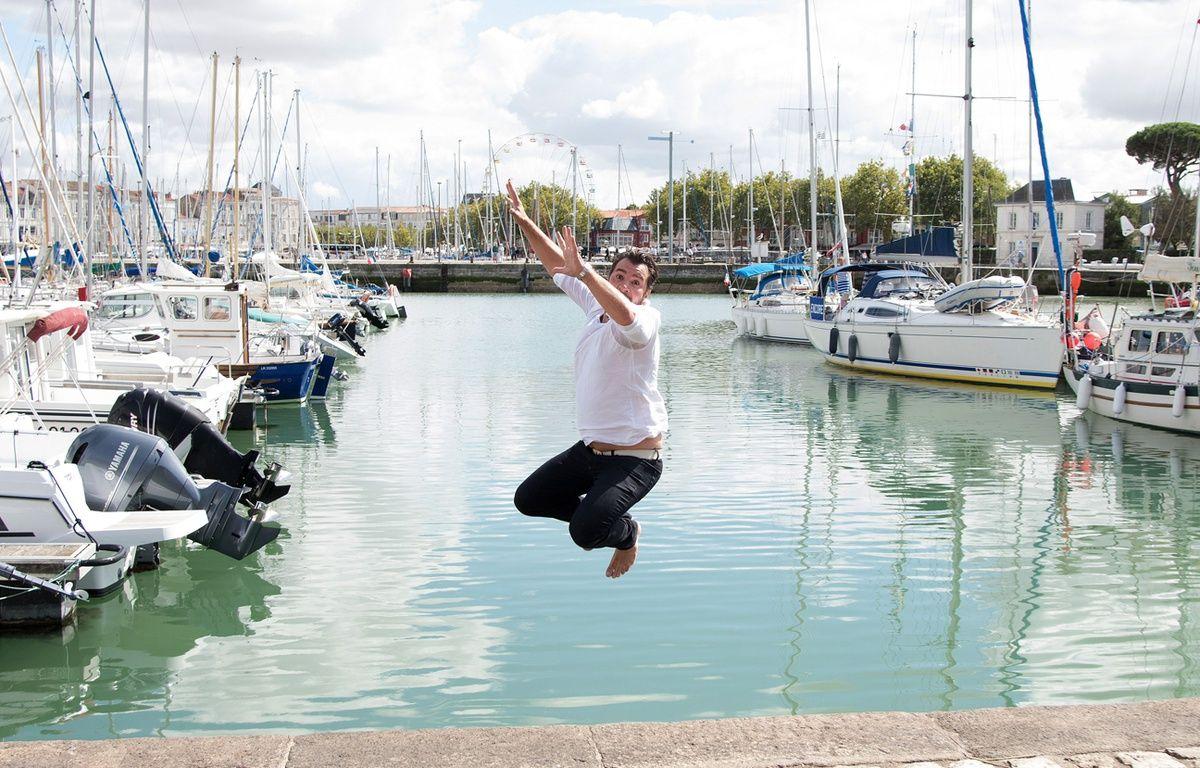 L'année dernière, Michael Youn n'avait pas hésité à se jeter à l'occasion du festival de La Rochelle. Va-t-il remettre ça cette année? – NIVIERE/SIPA