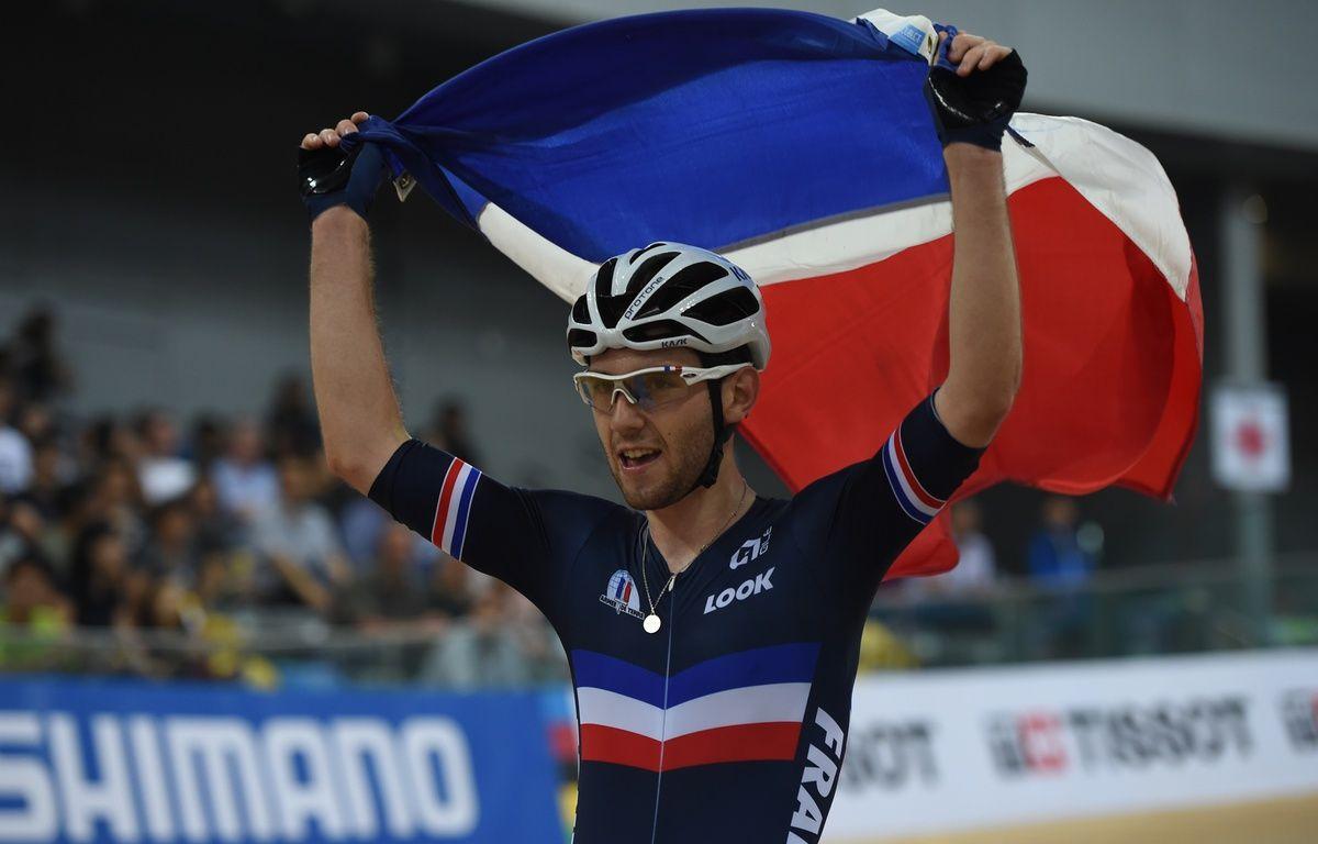 Benjamin Thomas: deux prénoms, un champion du monde – Anthony WALLACE / AFP