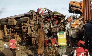 Au moins 36 personnes ont été tuées et 11 blessées dans un accident au Kenya.
