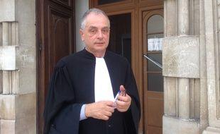 Maître Daniel Picotin est l'avocat des parties civiles dans le procès de Philippe Lamy.