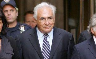 Dominique Strauss-Kahn est libre depuis l'audience du 23 août 2011