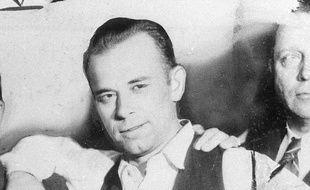 John Dillinger en février 1934.