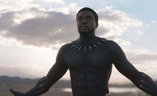 Chadwick Boseman dans le rôle-titre du film «Black Panther».