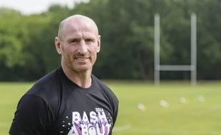 Gareth Thomas, l'ancien international gallois de rugby, ici en mai 2014.