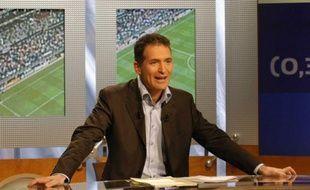 Le commentateur de TF1, Christian Jeanpierre.