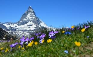 L'image du mont Matterhorn, en Suisse, a été reprise par un parti national allemand