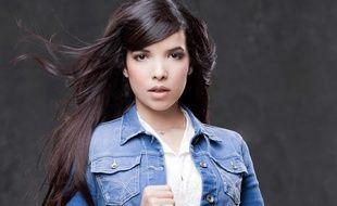 La chanteuse Indila