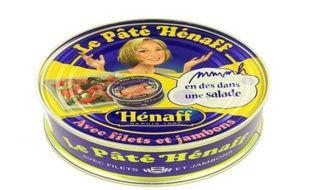 Une boîte de pâté Hénaff