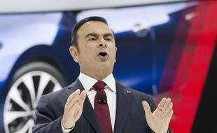 Le PDG de Renault, Carlos Ghosn, à New York le 2 avril 2015.
