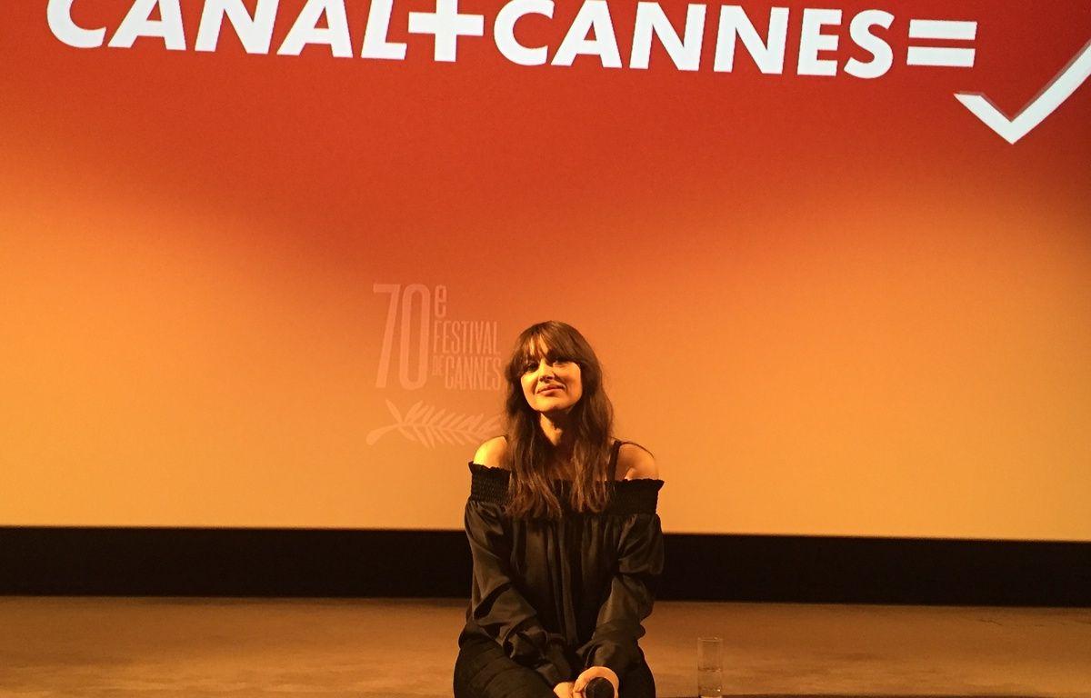 Monica Bellucci à la conférence de presse de Cannes – Caroline Vié