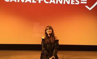 Monica Bellucci à la conférence de presse de Cannes
