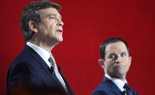 Arnaud Montebourg et Benoît Hamon