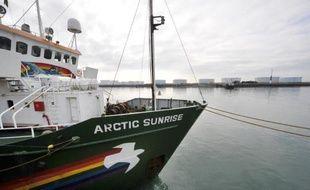 Le navire de Greenpeace, l'Arctic Sunrise, arraisonné en septembre dans l'Arctique russe après une action contre une plateforme pétrolière, est toujours sous séquestre en Russie malgré une décision de la justice internationale, a indiqué l'ONG jeudi.