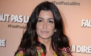 Jenifer, en février, à l'avant-première du film «Faut pas lui dire».