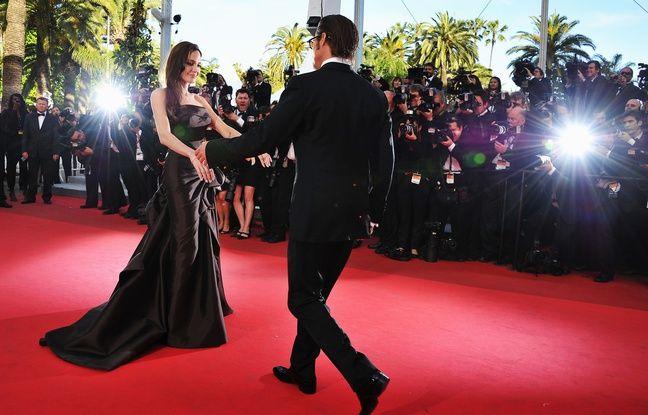 Brad Pitt et Angelina Jolie à Cannes le 16 mai 2011.