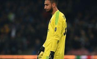 Gianluigi Donnarumma est triste à Milan