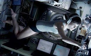 Sandra Bullock dans Gravity.