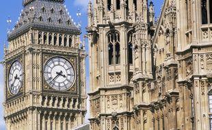 L'horloge de Big Ben à Londres ( Royaume-Uni)