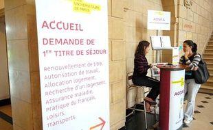 Afin de faciliter l'accueil des étudiants etrangers, la Cite  Internationale Universitaire de Paris, met en place un guichet unique.