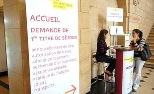 Afin de faciliter l'accueil des étudiants etrangers, la Cite  Internationale Universitaire de Paris, met en place un guichet unique.