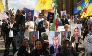Manifestation pour la libération de 36 membres des