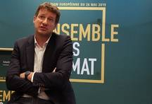 Yannick Jadot le 10 avril à Villeurbanne.
