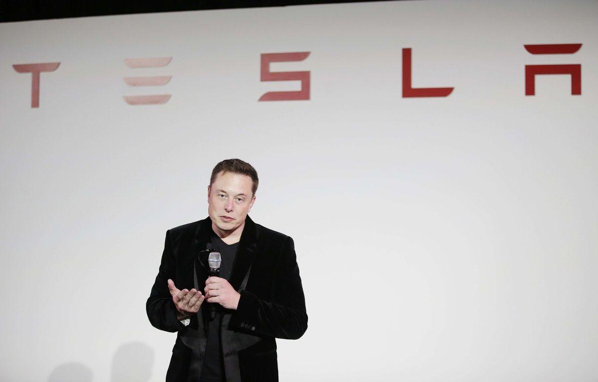 Elon Musk, le PDG de Tesla. – Marcio Jose Sanchez/AP/SIPA