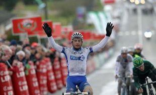 Pierrick Fédrigo (34 ans) a ajouté mardi à son palmarès une semi-classique, Paris-Camembert, une manche de la Coupe de France de cyclisme qui lui avait curieusement échappée jusqu'à présent.