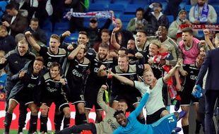 L'Ajax s'est qualifié pour les quarts de finale de la Ligue des champions en allant battre le Real Madrid (1-4) à Bernabeu.