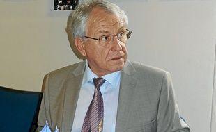 J-C Peyrin, président de l'UMP 38.