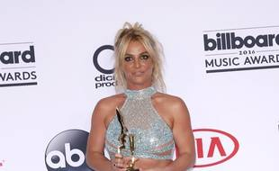 La chanteuse Britney Spears aux Billboard Music Awards en 2016