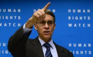 le directeur de Human Rights Watch, Kenneth Roth, le 21 janvier 2014 à Berlin