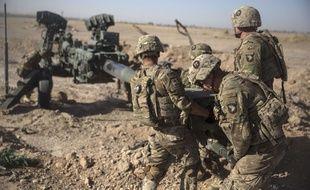 Des soldats américains en manœuvre en Afghanistan. (Illustration)