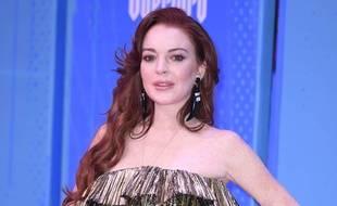 L'actrice et femme d'affaires Lindsay Lohan