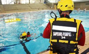 La prévention des noyades, à la piscine Antigone de Montpellier.