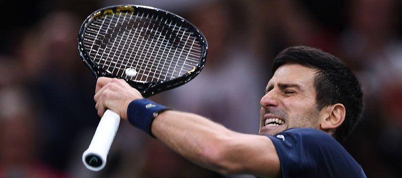 Djokovic remporte son 5e Masters 1000 de Paris-Bercy.