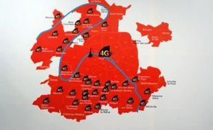 D'ici fin septembre, 13 nouvelles villes en Ile de France devraient enrichir l'offre 4G d'Orange.