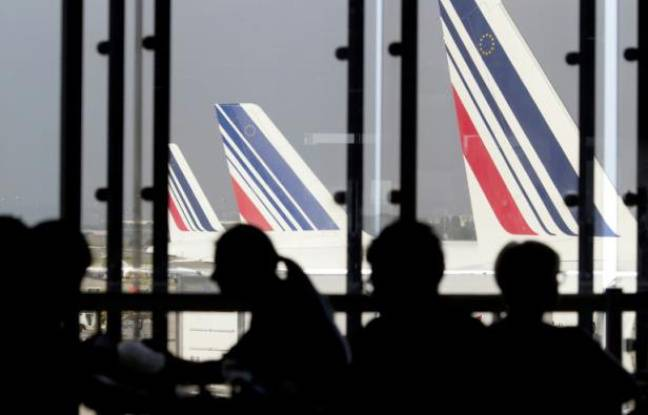 Des avions de la flotte Air France, le 15 septembre 2014  l'aroport d'Orly