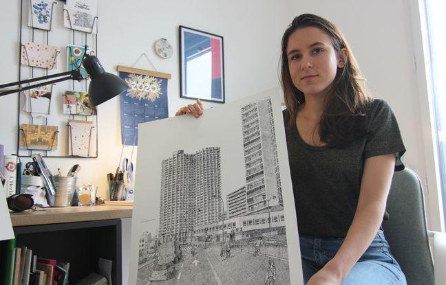 Pauline Bloquel est une illustratrice rennaise plus connue sous le pseudonyme Pablo est une fille. Elle s'est spécialisée dans le pointillisme.