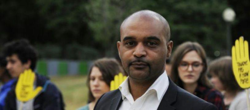 Le président de SOS Racisme, Dominique Sopo, le 18 juin 2015 à Paris