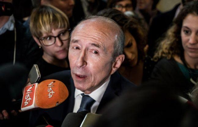 Gérard Collomb dit à Christophe Castaner de «faire attention»