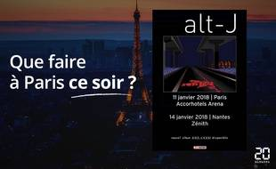 Alt-J joue ce soir à Bercy.