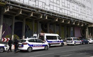 Une opération de police est actuellement en cours autour de la Samaritaine.