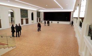 Le grand salon Mauduit reconstruit presque à l'identique.