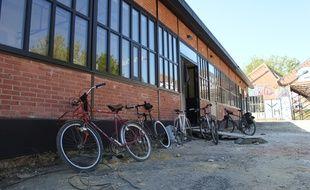 Le nouvel atelier de réparation de vélos de La Petite Rennes est installé à La Courrouze.