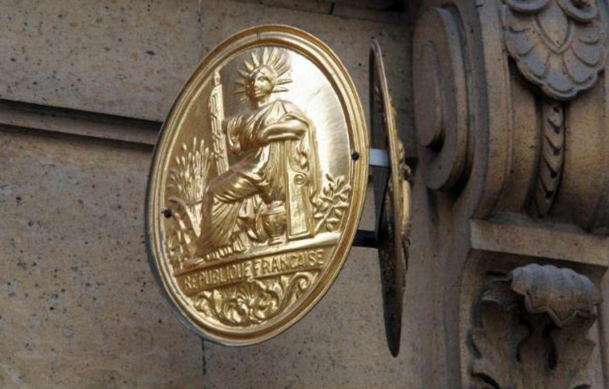 Une plaque de notaire. – Aurore Marechal AFP