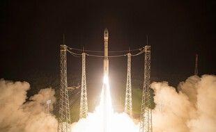 Décollage d'un fusée Vega, en septembre 2020 (image d'illustration).