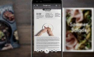 Google Lens est disponible sur PC