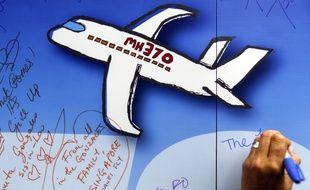 Une illustration du MH370, disparu il y a deux ans.